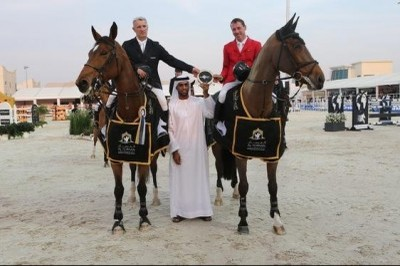 Sanne RV (Cavalier x Emilion) won with the German rider Hans-Dieter Dreher CSI***** Abu Dhabi.